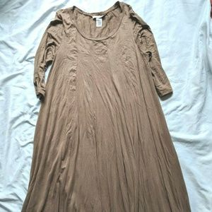Pastel by Vivienne Women's Midi Dress W/ Pockets
